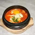 周王山 - 豆腐チゲ。