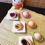 ワンタン館 - 紫芋酥、かぼちゃ酥~