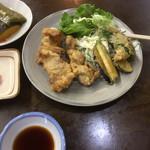 旅路食堂 - 豚バラ天ぷら