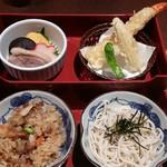 そば茶屋 華元 本膳庵 - そば・炊き込みご飯・天ぷら・煮物