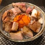 麺処 一龍庵 - ミニチャーシュー丼350円
