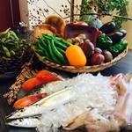 里山料理 じろう亭 - ささ山のお野菜と旬のお魚