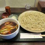 蕎麦切り 春のすけ - 料理写真:かしわせいろ(1,000円)