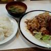 ランチハウス - 料理写真:焼肉&ハンバーグカツ定食ライス中盛り50円増し!