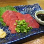 きっちょんちょん - 料理写真:馬刺(赤身)