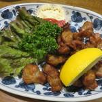 きっちょんちょん - 鶏砂肝の唐揚げ