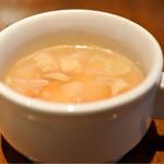 ボダコア - ランチのスープ