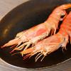 道とん堀 - 料理写真:赤エビの塩焼き