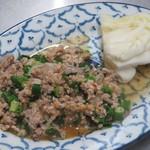 チャーンタイ レストラン - ラープムー、豚ひき肉のミント和え