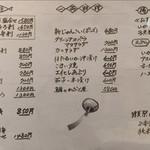 うなぎん - 2017夏のメニュー