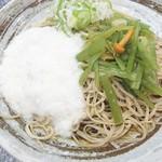 信州そば真田丸 - 料理写真:山菜とろろそば(580円)
