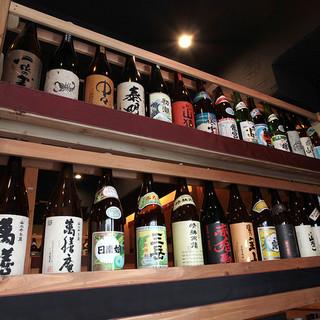◇厳選◇全国の日本酒・焼酎など豊富にご用意