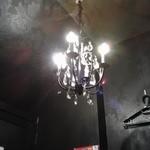 AJITO - 照明はシャンデリア