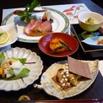 燦 - 錦秋の宴コース