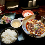 73815384 - 麻婆豆腐ランチ