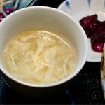73815393 - 卵スープ