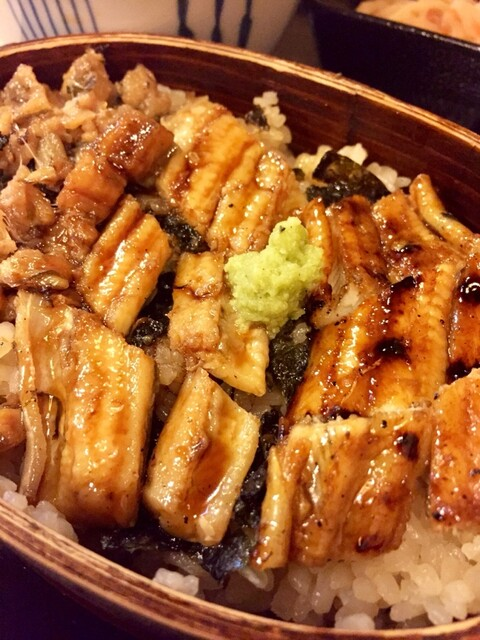炭焼あなご やま義 - あなご飯    ひつまぶしのように三段階の食べ方でグー✊