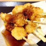 佐野サービスエリア(下り線)レストラン・スナックコーナー - ミニいもフライ 6本210円!