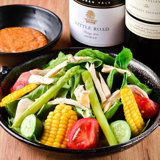 新鮮な福岡県産の季節野菜
