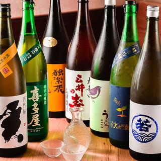 郷土料理によく合う♪福岡自慢の日本酒が大集合。