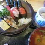 貴寿司 - 料理写真:ランチ握り800円