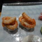 寿司 料理 まるも - 川津エビ