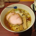 麺 みつヰ - 醤油 中太手もみ麺
