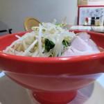 鶏白湯麺飯 暖家 - <参考>ヤング麺