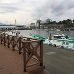 73819980 - 漁港の様子!