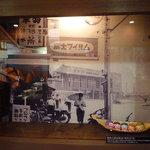 来福軒 - 昭和30年代の国鉄久留米駅前