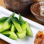 野菜バーる31 - きゅうりの豚味噌