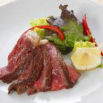 野菜バーる31 - 黒毛和牛ステーキ