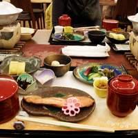 京都 東山荘-朝食