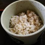 かおく - 蕎麦米入りごはん