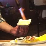 ハローキッド - 選べる4種のデザートプレート4 1~9まで、プリンを仕上げるライブ感、味わう価値アリ☆ 2017/07/23