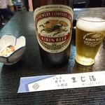 73822820 - お通しと瓶ビール