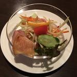 バンコクキッチン - パパイヤサラダと若鶏のグリル