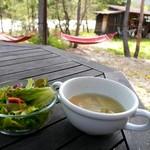 クニズカントリーキッチン - サラダとスープ