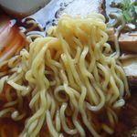 中華そば大石家 - 麺アップ