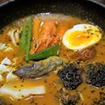 スープカレーlavi - 八百屋焙煎カレー、海老味 1,350円