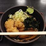 ゆで太郎 - 料理写真:2017店舗限定メニュー:鶏ごぼうそば450円込