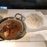 ハマカレ - 茄子と挽き肉スープカレ