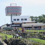 IWABA CAFE - 海上から見たIWABA CAFE