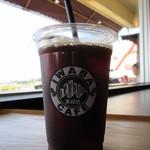 IWABA CAFE - アイスコーヒー(L) 550円