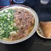 裕英うどん - 料理写真:肉うどん=570円 いなり 1個=110円