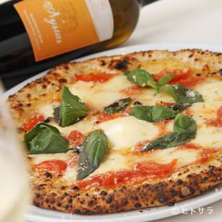 ピッツァとパスタ、コース料理。どれもがハイレベルなお店です