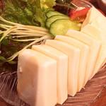 ふくべ - 豆腐サラダ