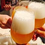 73839066 - クローネンブルグ・ブランで乾杯(^○^)