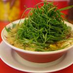ラーメン魁力屋 - 料理写真:九条ネギ