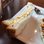 ブーランコ - 玉子サンド